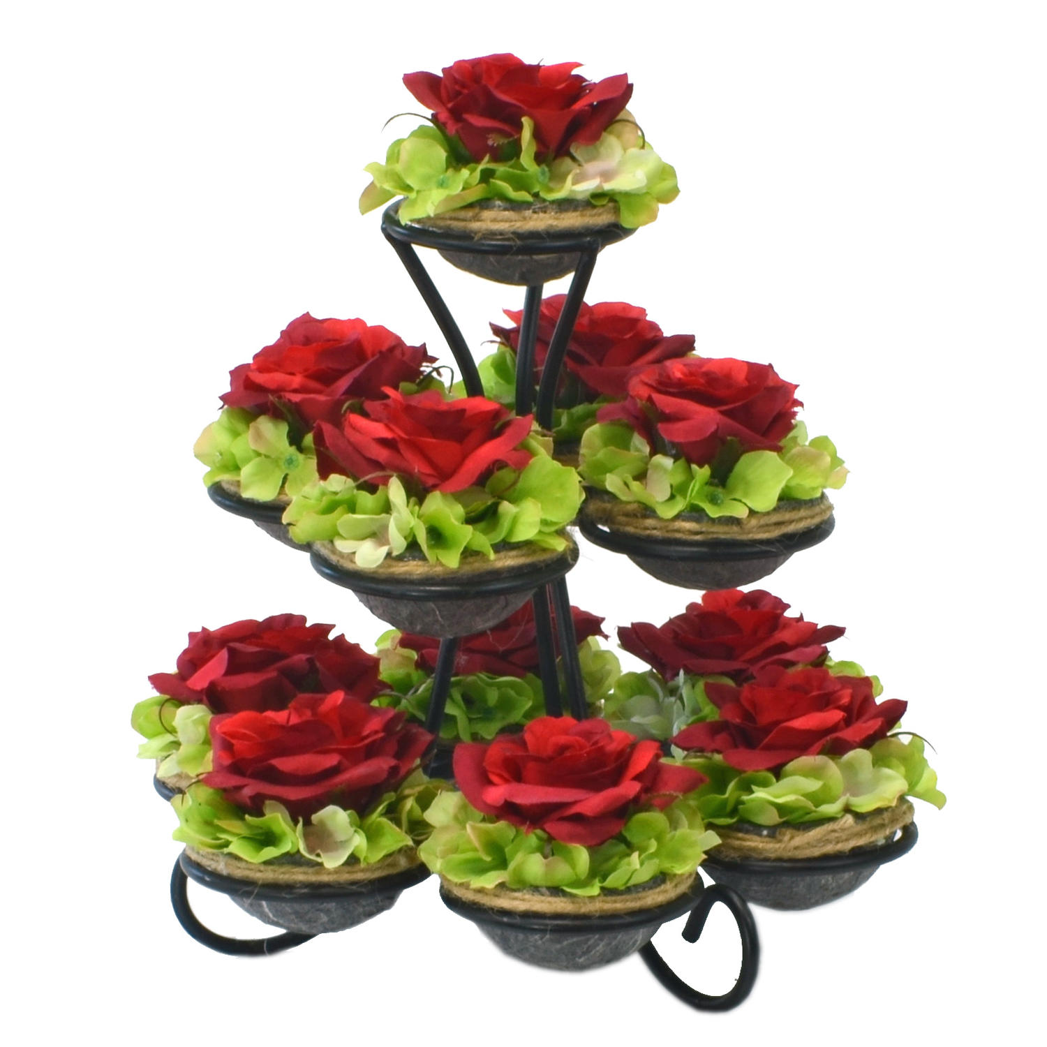 Frou flowers treasures cupcake stand